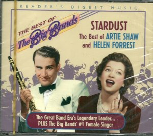 BEST OF ARTIE SHAW (2 CD) & HELEN FORREST, STARDUST Reader's Digest Best of the Big Bands (MINT)