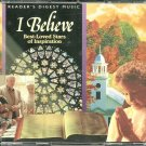 I BELIEVE (4 CD) BEST-LOVED STARS OF INSPIRATION Reader's Digest Inspirational Religious Cristy Lane