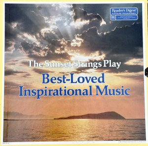 THE SUNSET STRINGS (7 LP) PLAY BEST-LOVED INSPIRATIONAL MUSIC Reader's Digest LP Hymns Spiritual