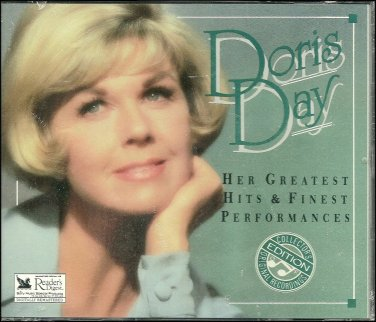 DORIS DAY (3 CD) - Her Greatest Hit & Finest Performances Reader's Digest Music