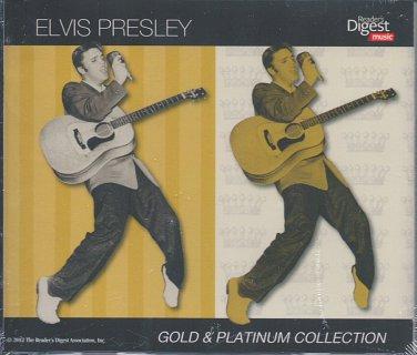 Elvis Presley Gold & Platinum Collection (3 CD) Reader's Digest