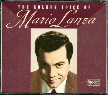 THE GOLDEN VOICE OF MARIO LANZA (3 CD Set) Reader's Digest opera music