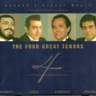 THE FOUR GREAT TENORS (4 CD)  Reader's Digest Music