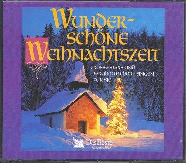 Wunderschöne Weihnachtszeit, Grosse Stars und berühmte Chöre singen für Sie (4CD) Das Beste