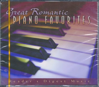 Great Romantic Piano Favorites (4CD) Reader's Digest Music