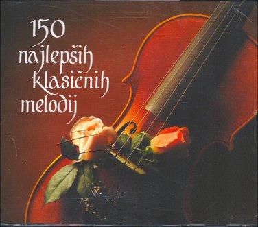150 Najlepših Klasi�nih Melodija (150 Best Loved Melodies) Reader's Digest 6CD