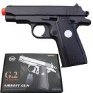 G2 FULL METAL SPRING airsoft pistol 230 FPS + BBs