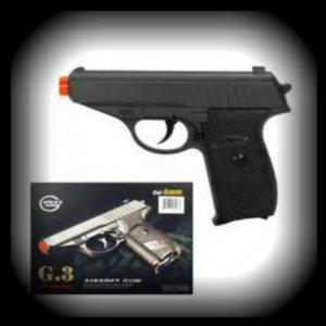 G3 FULL METAL SPRING airsoft pistol 230 FPS + BBs