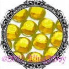1440 3MM CITRINE Yellow Rhinestones Iron on Hot Fix 10 gross - 10ss ss10