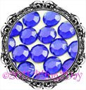 1440 3MM COBALT Royal Blue Rhinestones Iron on Hot Fix 10 gross - 10ss ss10