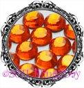 1440 3MM HYACINTH Orange Rhinestones Iron on Hot Fix 10 gross - 10ss ss10