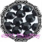 1440 3MM JET Black Rhinestones Iron on Hot Fix 10 gross - 10ss ss10