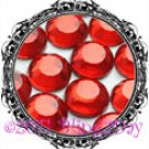 1440 3MM LIGHT SIAM Red Rhinestones Iron on Hot Fix 10 gross - 10ss ss10