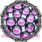 1440 3MM AMETHYST Purple Rhinestones Iron on Hot Fix 10 gross - 10ss ss10