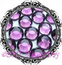 1440 3MM AMETHYST Purple Rhinestones Iron on Hot Fix 10 gross - 10ss ss10