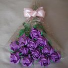 Origami Paper Roses Bouquet  Purple Gift Crafts