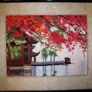 Handmade traditional Fancywork Wall Art Embroidery Needlework Home Decor