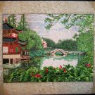Handmade  Home Decor Embroidery Needlepoint  Picture Fancywork Wall Art