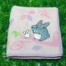 Totoro leaf handkerchief (Pink) - F02