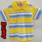 Kid Polo Style Shirt 100% Brand New & Soft Cotton US Size 6 (C)