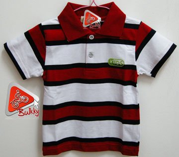 Kid Polo Style Shirt 100% Brand New & Soft Cotton US Size 2T (E)