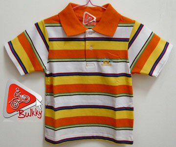 Kid Polo Style Shirt 100% Brand New & Soft Cotton US Size 2T (F)