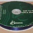 BERWICK RIBBON RIBBON - NAVY BLUE - 250 Yards 3/4'' - Vintage Christmas Dark USA