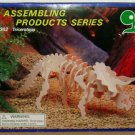 IQ ASSEMBLING PRODUCTS SERIES Triceratops Wooden Model Kit Dinosaur Craft Paint