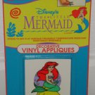 THE LITTLE MERMAID VINYL APPLIQUES - Walt Disney Princess Transfer Sticker Decal