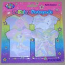 LISA FRANK T-SHIRT NOTEPAD Paper Stationary Polar Bear Sandy The Seal Fairy NEW
