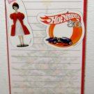 1998 HALLMARK - SHOPPING LIST WITH MAGNETS Barbie Hot Wheels Paper Pad Card NEW!
