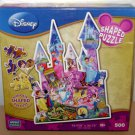 DISNEY SHAPED PUZZLE - PRINCESS CASTLE - 500 Piece - NEW! Mega Brands 2011 Belle