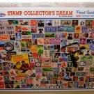 STAMP COLLECTOR'S DREAM PUZZLE - White Mountain - 1000 Piece - Collection New