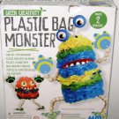 PLASTIC BAG MONSTERS - Green Creativity - Recycle Craft Kit 2010 4M Kids Earth