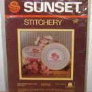 1984 SUNSET STITCHERY KIT - Grandmothers Are Special - Vintage Craft Embroidery