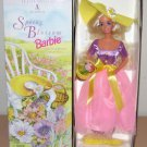 1995 SPRING BLOSSOM BARBIE DOLL First in Series AVON - Sun Hat March June Dress