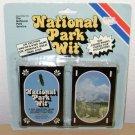 1992 NATIONAL PARK WIT CARDS - Trivia Game Photographs - Questions Vintage Deck