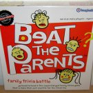 BEAT THE PARENTS - FAMILY TRIVIA BATTLE GAME - New 2005 Card Complete Board Kids