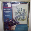 COUNTRY ROADSIDE EMBROIDERY KIT - Country Roadside - Wild Blue Flower Paragon