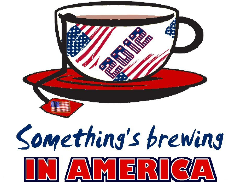 Tea parties something's brewing Tee! WHITE Tee Adult 2XL