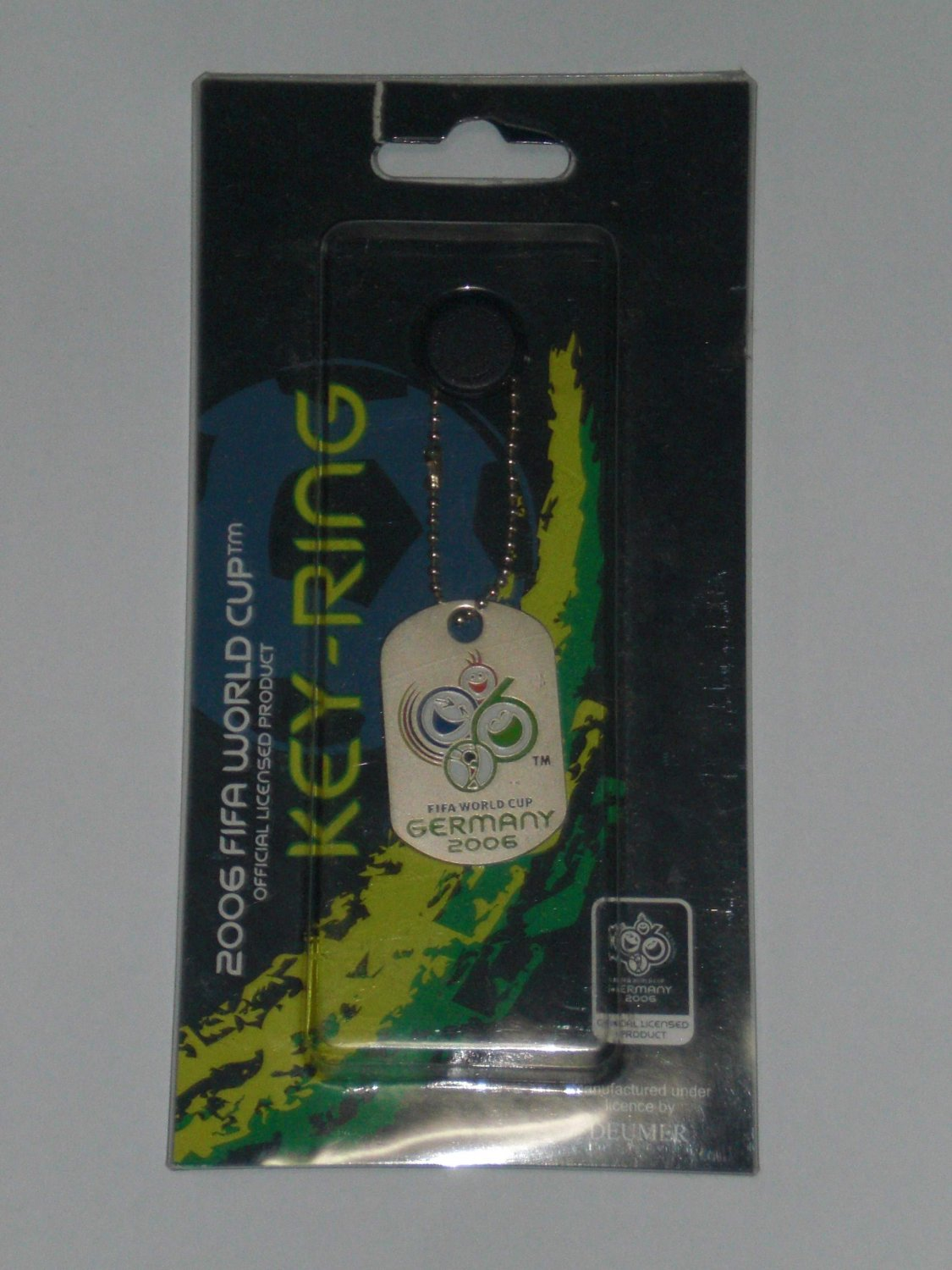 Official Fifa World Cup 2006 (Germany) Key Ring - 09