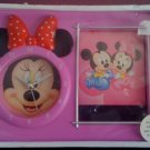 Minnie Mouse Clock + Photo Frame - 04
