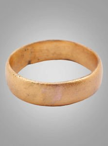 Ancient Viking Womans Wedding Band, Jewelry C.866-1067A.D. Size 5 1/2  (15.6mm)(