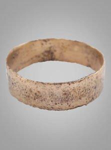 Vintage Antique Ancient Wedding band Viking Ring C.866-1067AD. Size 6 1/2   (16.