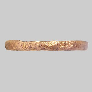 Authentic Ancient Viking Wedding Band Jewelry C.866-1067A.D. Size 12 1/2 (21.5mm