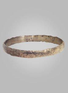 Ancient Viking Mans Wedding Ring York UK 866-1067 A.D. Size 11 (20.2mm)(Brr132)