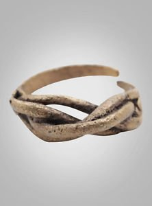 Viking Ring Ancient Jewelry C.866-1067 A.D. Size 9  (19.3mm)(Brr924) Vikking Rin