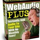Web Audio Plus.