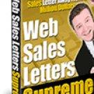 Web sales letter Supreme.