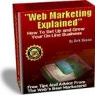 Web Marketing Expained.